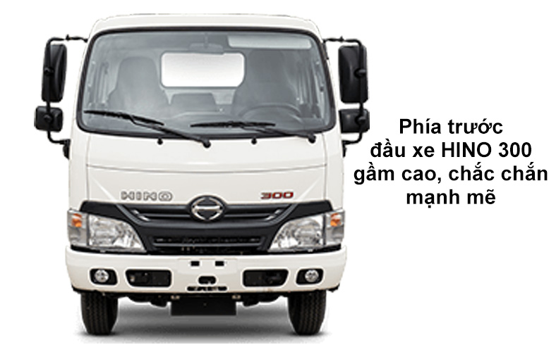 Đầu xe HINO 1.9 tấn đến 3.5 tấn
