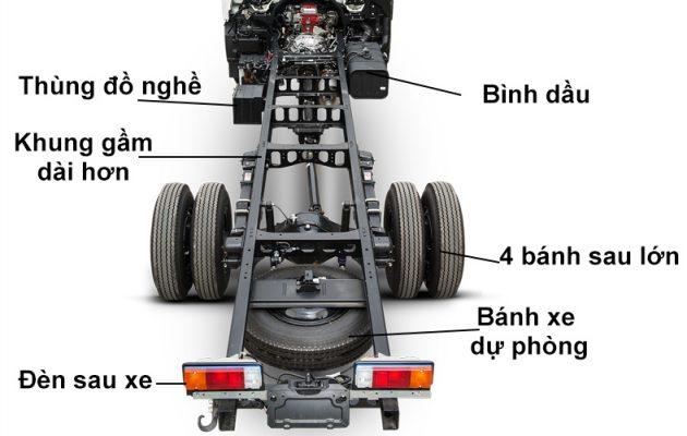 Khung gầm xe HINO 300