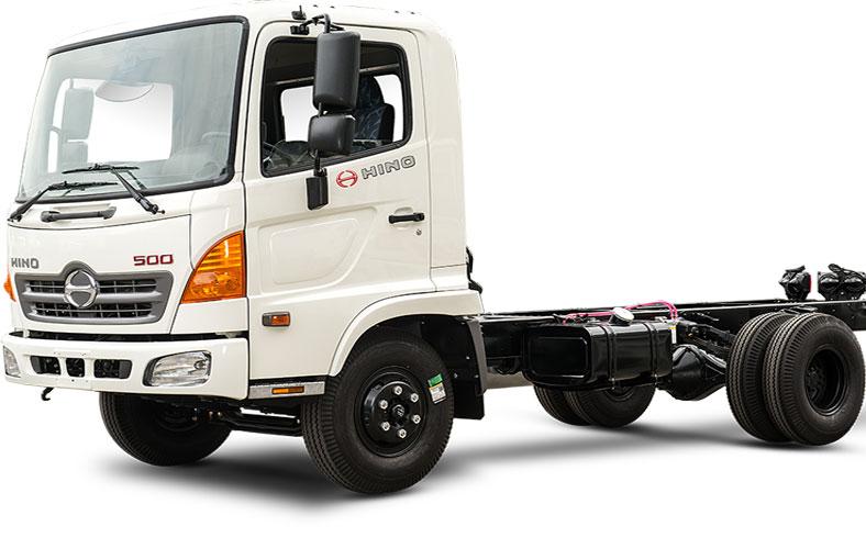 Chassi xe tải HINO series 500, được phân phối tại Xetaisaigon.com tải trọng chở từ 6t đến 16t