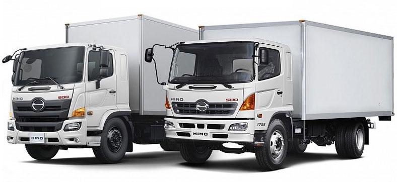Xe tải HINO 500 thùng bảo ôn đông lạnh, siêu đẹp