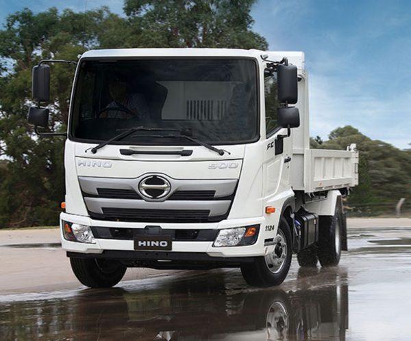 Chuyên đóng mới xe Ben HINO chở cát, giá rẻ, chất lượng cao