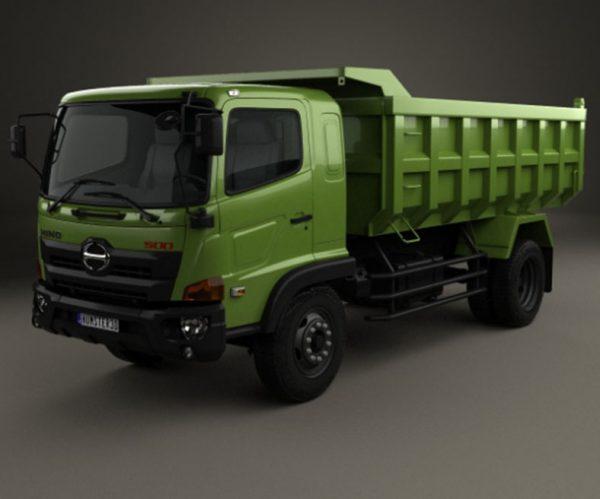 Xe tải ben chở cát HINO 500, giá rẻ tải trọng từ 8 tấn đến 16 tấn