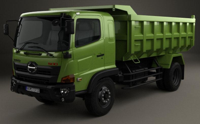 Xe tải ben chở đất HINO 500 9 tấn đến 15 tấn