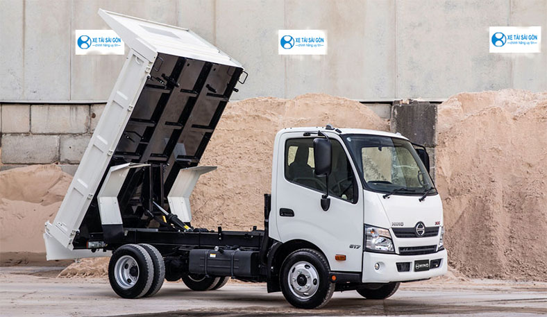 Đóng mới thùng xe tải Ben chuyên dùng, chuyên chở cát đá vât liệu xây dựng...
