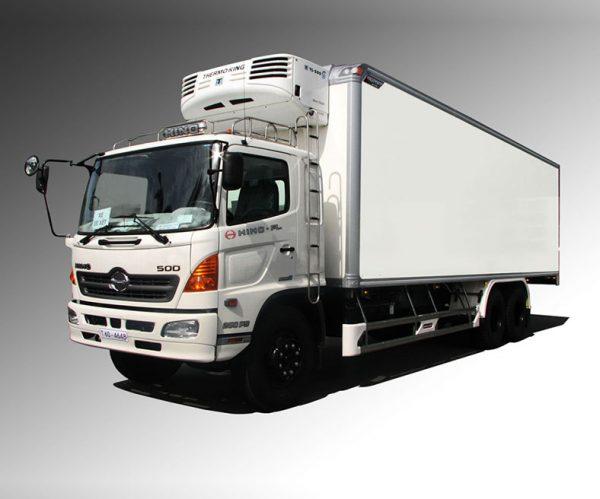 Xe tải đông lạnh HINO 500 tải trọng 5 tấn đến 15 tấn