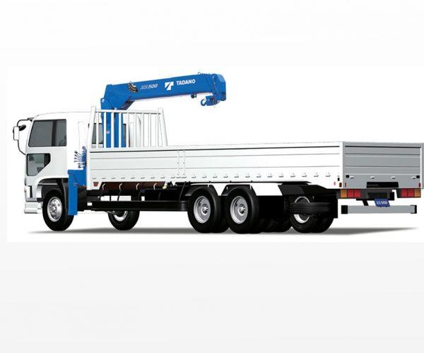 Xe tải cẩu thùng TADANO trên nền xe HINO