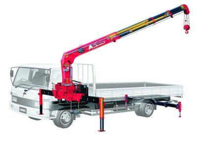 Xe tải cẩu HINO lớn gắn cầu UNIC Nhật Bản