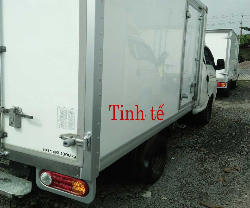Thùng xe đông lạnh 1 tấn cũ 1 tấn Hyundai