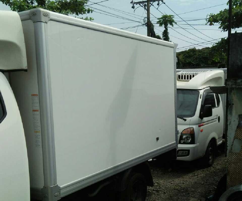 xe tải cũ 1 tấn đông lạnh