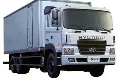 Phân phối xe tải Hyundai HD240 thùng kín tại tp hcm giá rẻ