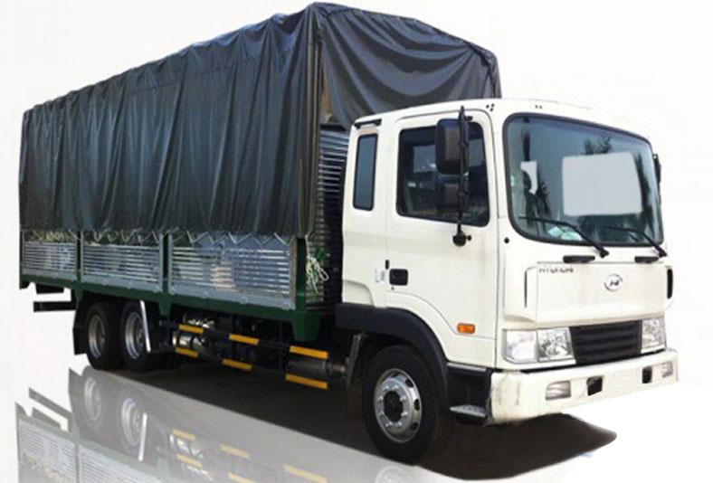 Xe tải thùng mui bạt 16 tấn Hyundai HD240