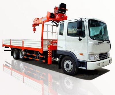 Xe tải Hyundai gắn gẩu 15 tấn, 5 đốt tùy chọn