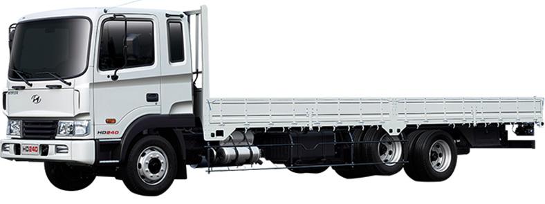 Xe thùng lửng 16 tấn Hyundai HD240 nhập khẩu