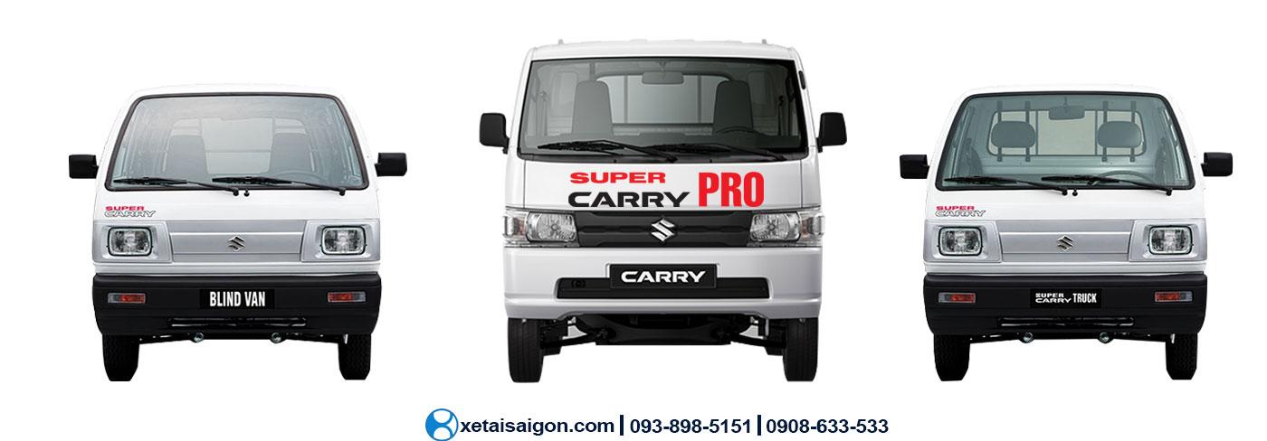 03 Xe tải Suzuki bán chạy nhất