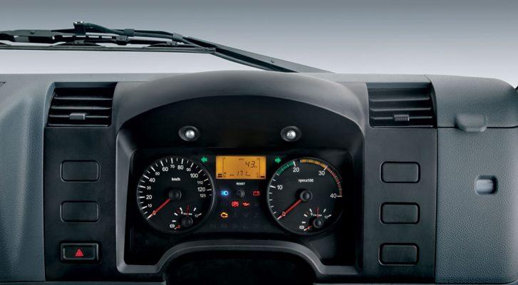 màn hình điều khiển xe tải fuso