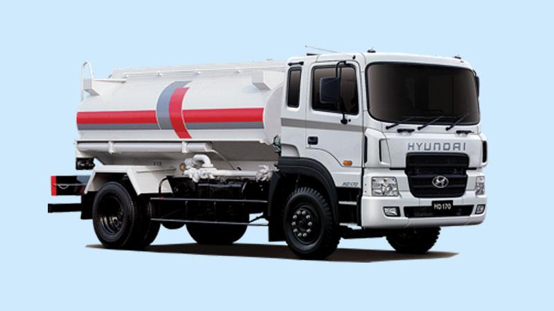 Xe bồn chở xăng dầu Hyundai