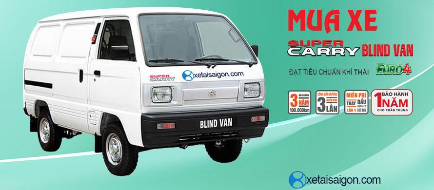 Mua xe tải Suzuki Blind Van Chính Hãng