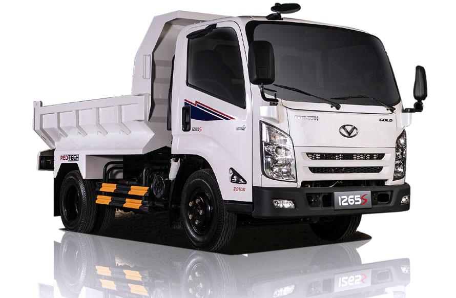 Xe tải ben tự đổ IZ65S Đô Thành, 2 Tấn đến 4.5 tấn