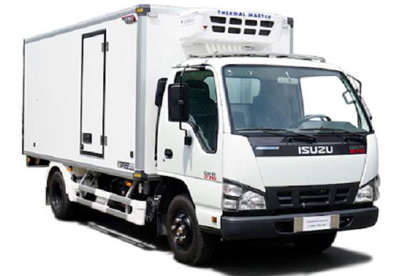 Xe tải đông lạnh isuzu QKR77FE4 1.99 tấn