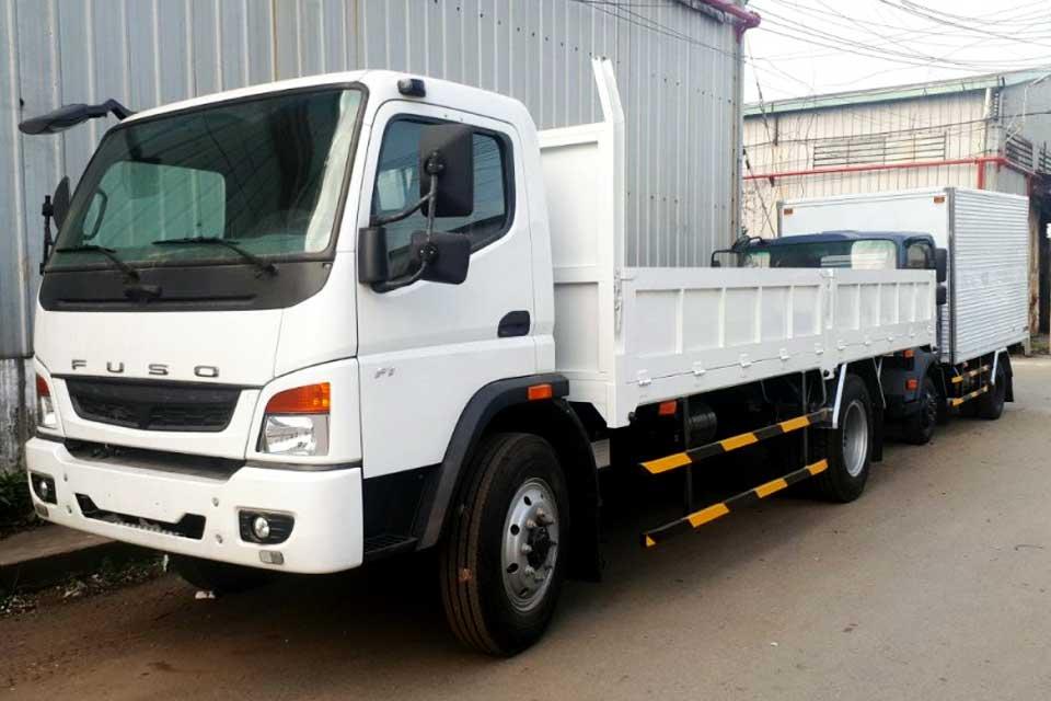 Cung cấp xe tải Fuso FI 7t5 thùng lửng