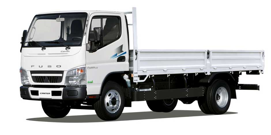Xe tải Fuso Canter 499 thùng lửng 2t[