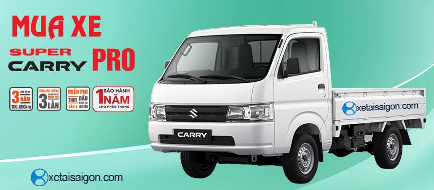 Mua xe tải Suzuki Carry Pro chính hãng