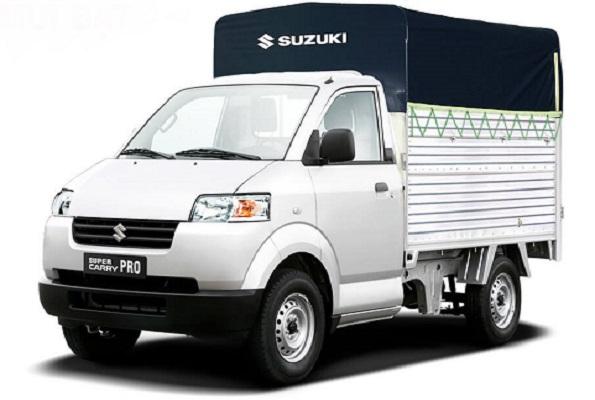 xe t ải Suzuki carry pro thùng mui bạt