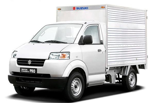 xe tải Suzuki carry pro thùng kín