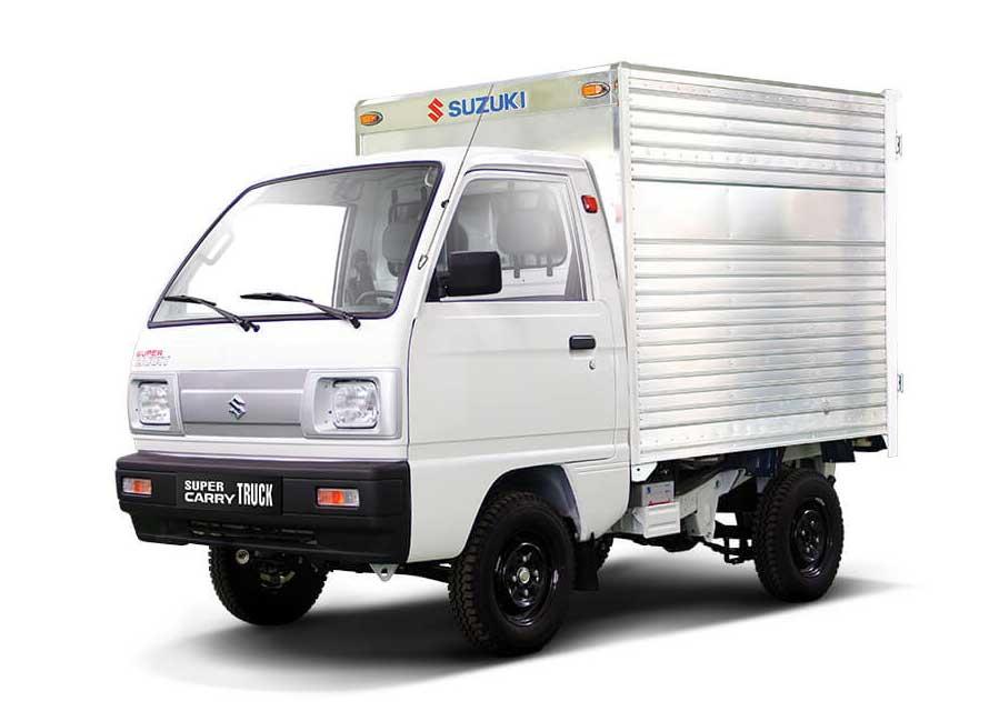 Xe tải Suzuki Carry Truck thùng kín 640kg