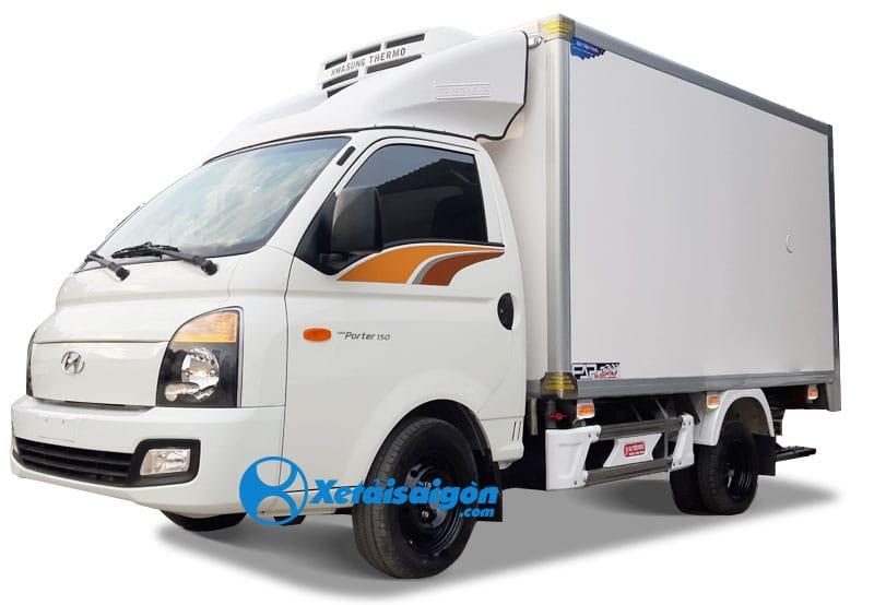 Xe tải Hyundai 1 tấn thùng đông lạnh