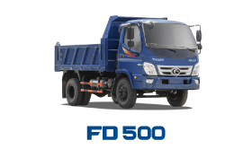 Xe tải THACO FORLAND FD500 4,99 Tấn