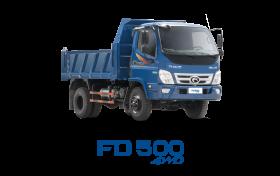 Xe tải THACO FORLAND FD500-4WD 4.99 Tấn