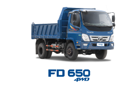 Xe tải THACO FORLAND FD650-4WD 6.4 Tấn