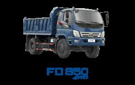 Xe tải THACO FORLAND FD850-4WD 7.58 Tấn