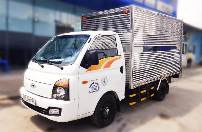 Xe tải thùng kín Hyundai