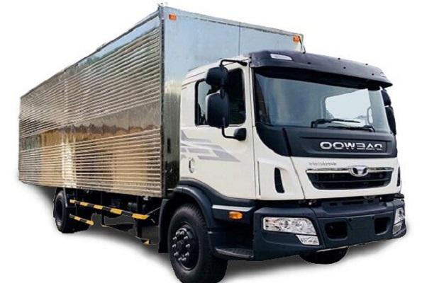 Xe tải Daewoo HU66A thùng kín 15.5 tấn
