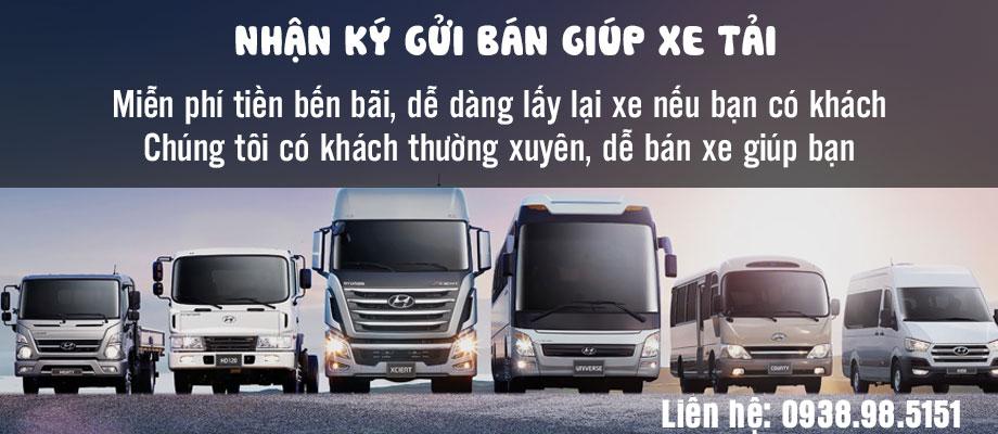 Ký gửi bán giùm xe tải