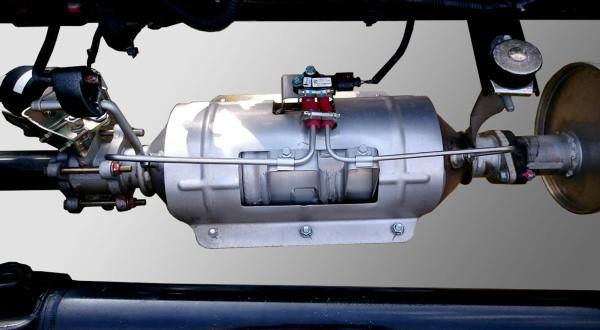 bộ xử lý khí thải xe tải Ollin