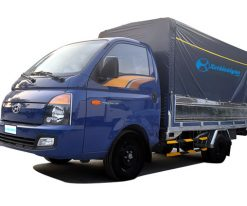 Xe tải hyundai 1.5 tấn thùng mui bạt