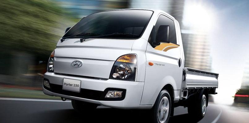 Kiểu dáng xe tải Hyundai 1.5 tấn thùng lửng