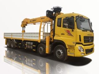 Xe tải Dongfeng L310 gắn cẩu ATOM 12 tấn 5 đoạn