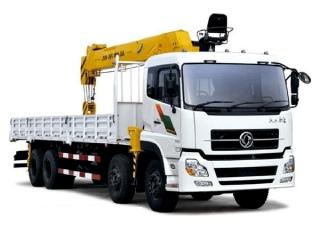 Xe tải Dongfeng L310 gắn cẩu ATOM 14 tấn 5 đoạn