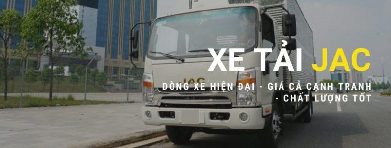 banner giá xe tải JAC