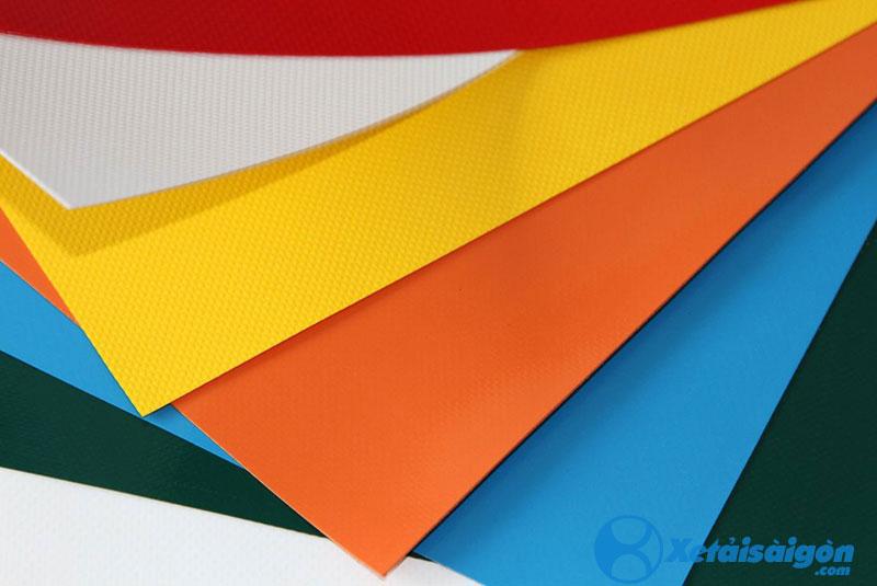 Các loại bạt, với nhiều màu sắc lựa chọn