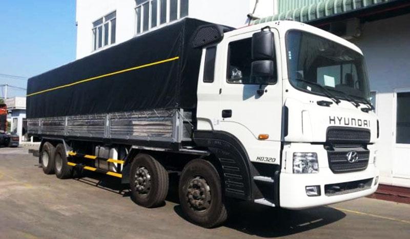 Xe tải 4 giò, lắp bạt phủ thùng xetaisaigon.com