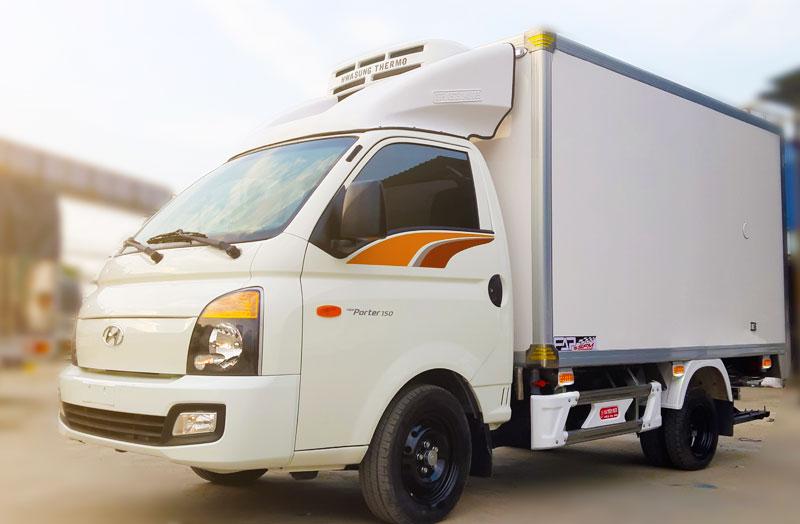 Xe tải thùng đông lạnh 1 tấn Hyundai Porter H150