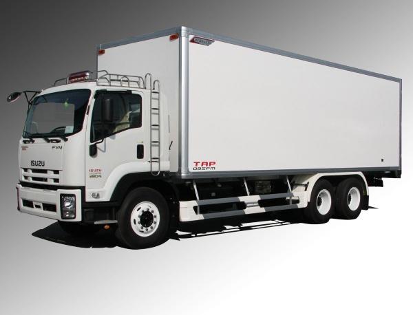 Xe Tải ISUZU 15 tấn FVM thùng kín