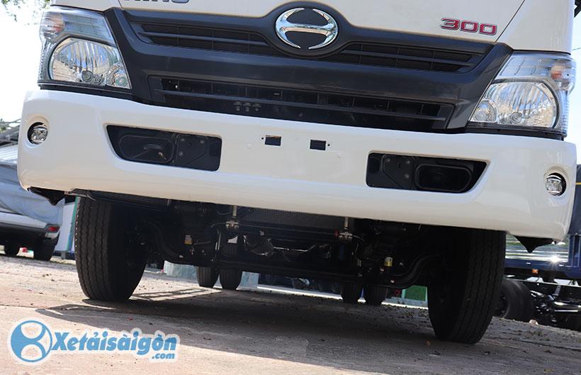 Khung gầm xe tải Hino 5 tấn