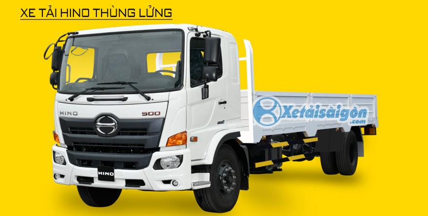Xe tải Hino 8 tấn thùng lửng
