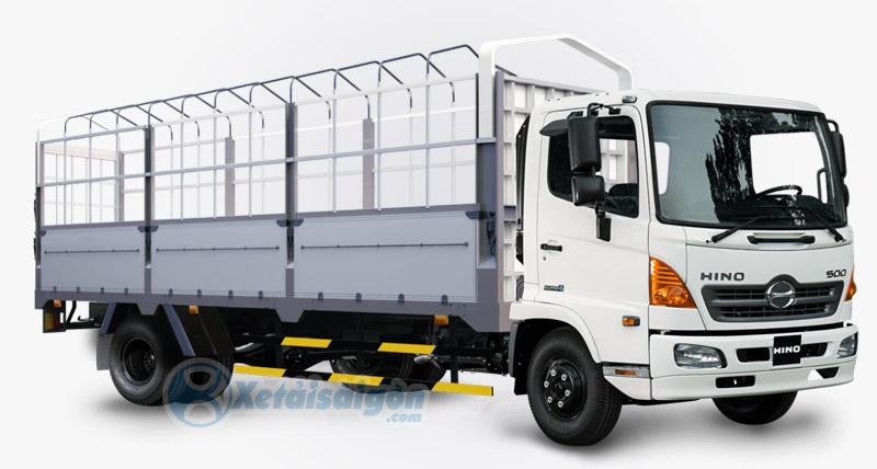 Xe tải Hino 6.4 Tấn Thùng Mui Bạt